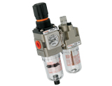 Modular Filter Regulator Component With Lubricator Combination Sets